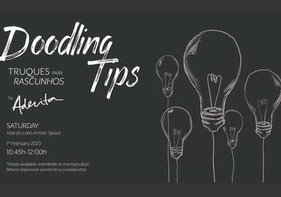 Dooddling tips Workshop by Aderita Silva