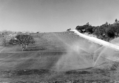 1965: Start of golf course construction, overseen by Sir Henry Cotton