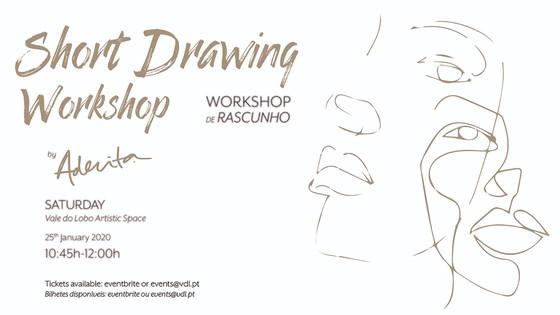 Workshops de Desenho por Aderita Silva