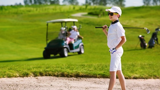 En mai 2019 à la Junior Golf Academy