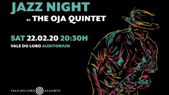 Noite de Jazz pelo Quinteto OJA