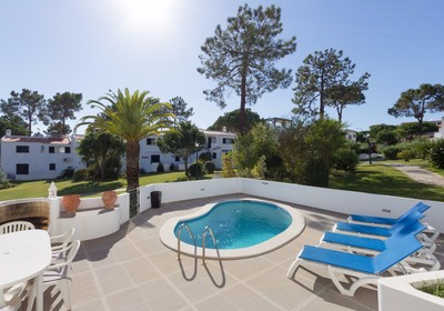 Centrally located linked villa