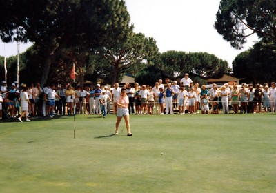 1987: Portuguese Golf Ladies' Open held at Vale do Lobo