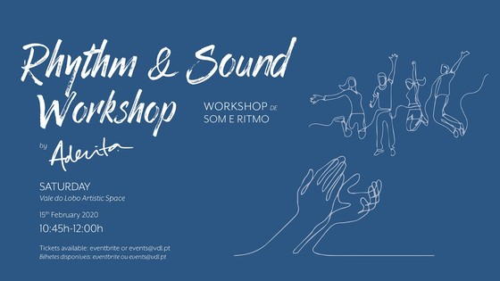 Rhythm & Sound Workshop by Aderita Silva