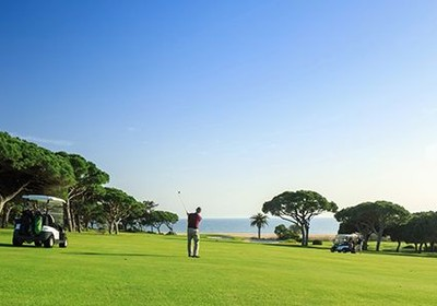 Tee off in Vale do Lobo