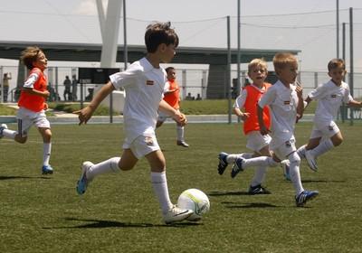Football programme Real Madrid Clinic at Vale do Lobo