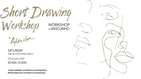 Short Drawing Workshops by Aderita Silva