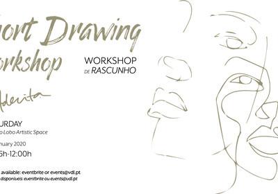 Short Drawing Workshops by Aderita Silva