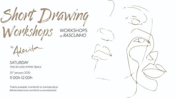 Workshops de Desenho por Aderita