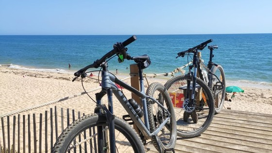 MTB Vale do Lobo to Faro 35Km