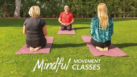 Aula sobre Movimento Mindful, 26 de Março
