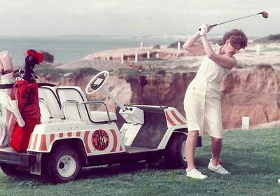 1983: First Open Foursomes Golf tournament takes place