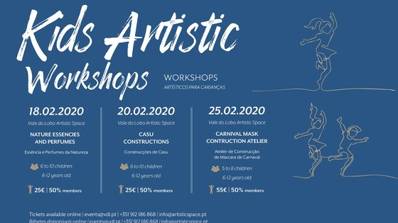 Kids Artistic Workshops by Aderita
