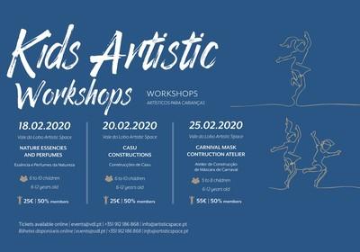 Kids Artistic Workshops by Aderita