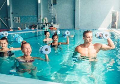 Aulas de Aquaterapia no Royal Spa
