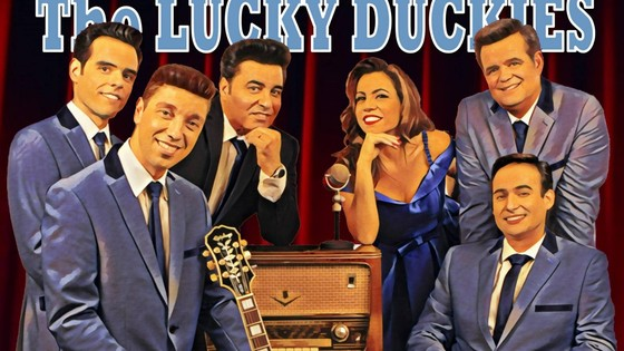 Summer Vintage Night by The Lucky Duckies
