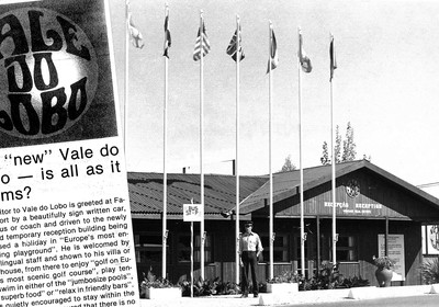 1978: Vale do Lobo revela nova imagem corporativa do resort