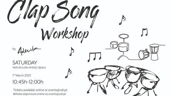 Clap Song Workshop por Aderita Silva