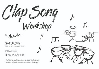 Clap Song Workshop por Aderita Silva