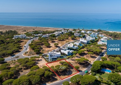 Plot close to the beach