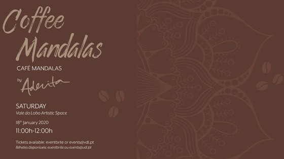 Coffee Mandalas by Aderita