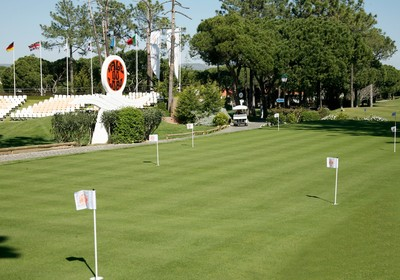 2007: Inauguração do novo putting green no Parque do Golfe