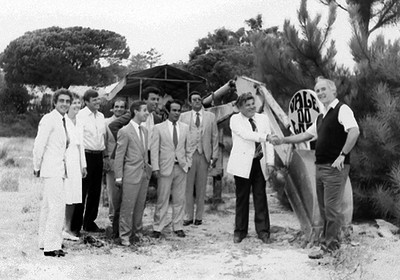 1984: Works begins on Golf Sports Centre