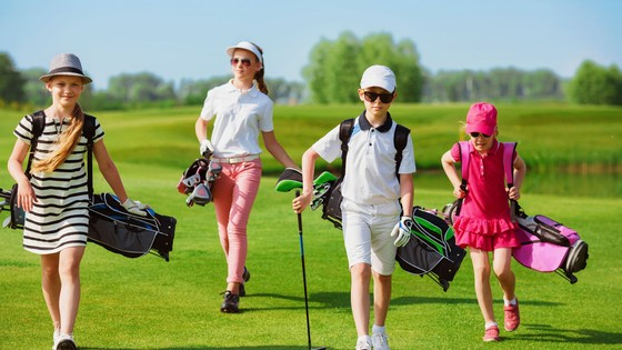L'été à la Junior Golf Academy