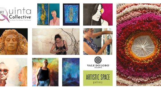 Inauguração da Exposição Quinta Art Collective no Vale do Lobo Artistic Space